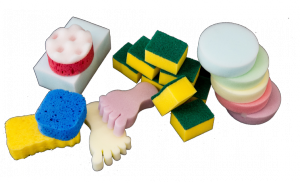 Sponges and scourers